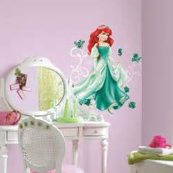 Disney Princess Room Decor Ariel Wall Decals Disney Princess Arial Stickers Green Bedroom Decor Ebay