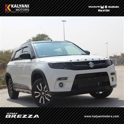 kalyani motors maruti suzuki cars dealers and authorised this dealer modified vitara brezza is asking for a inr 2 4
