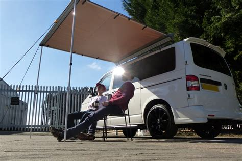 transit van awning van guard ford transit l2h3 l3h3 2 ulti roof bars with