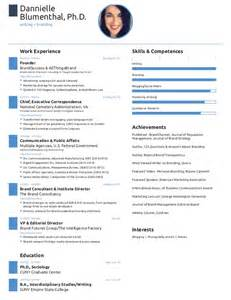one page templates free one page resume created with free novoresume template