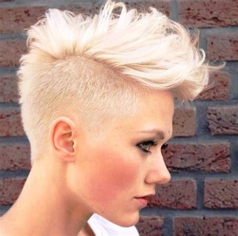 feminine mohawks 10 stylish girls that really know how to rock a mohawk