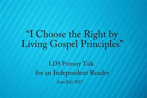 tumblr the principle f lds 15 best primary talks 2017 images on pinterest primary