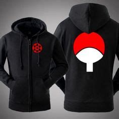 Clan Uchiha Madara Rompi Vest Hoodie Jaket Konoha Anime 1000 images about anime hoodie for on fleece hoodie and black