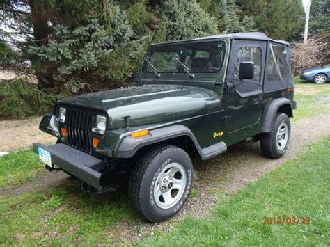 1995 Jeep Wrangler Grande Sell Used 1995 Jeep Wrangler Grande Sport Utility 2