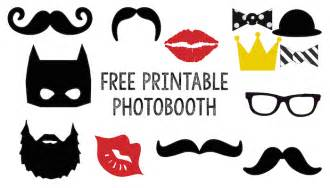 photo booth templates free free printable photobooth paper trail design
