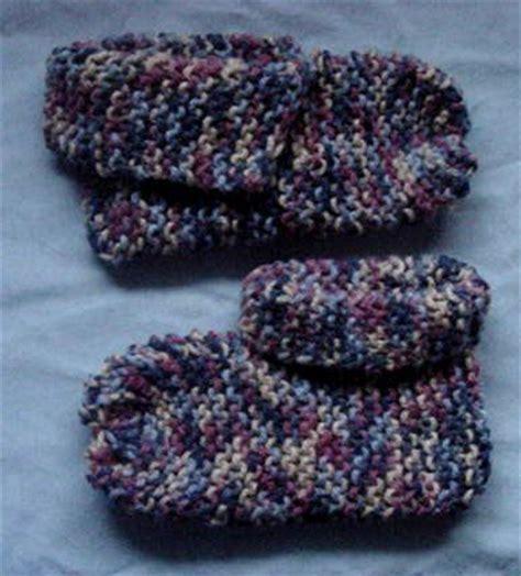 knitting pattern for slippers for beginners beginner knit slippers knitting crochet