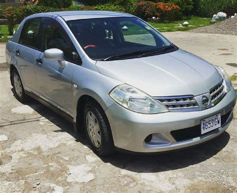 nissan tiida 2008 price 2008 nissan tiida for sale in jamaica kingston for