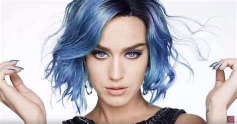 blue hair color personal style