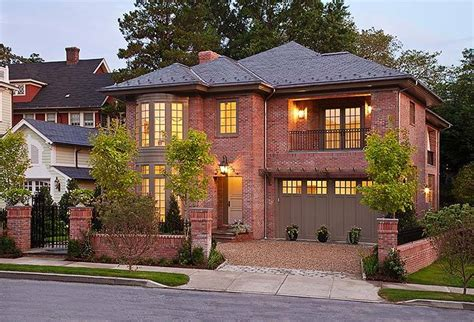 brick house trendy options for your home s exterior zameen
