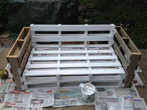 how to make a sofa out of pallets pallet sofa home diy pinterest