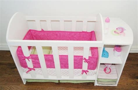 doll changing table station diy baby doll bed and changing station dolls