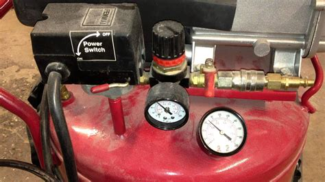 harbor freight 21 gallon compressor repair how to wont compress 60 psi model 94667 part 4
