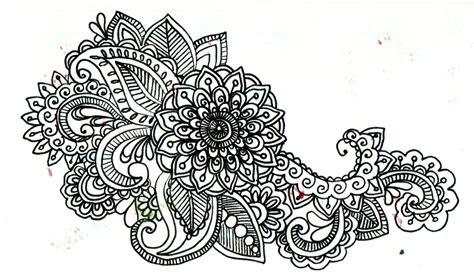 black and white henna pattern my patterns creative production digital media