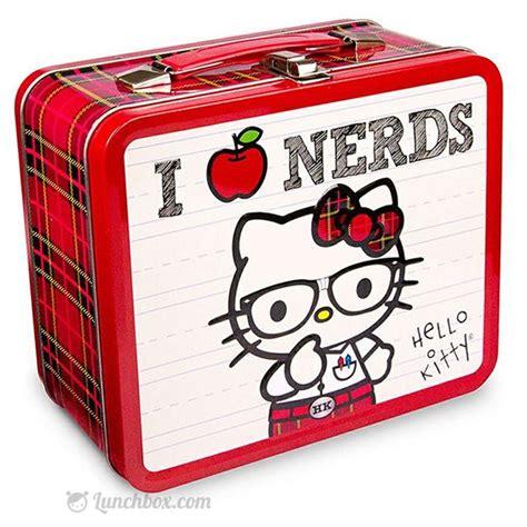 Hello Lunch Box hello i nerds metal lunchbox lunchbox