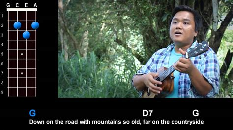 country comfort chords quot waimanalo blues quot country comfort ukulele play along