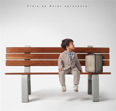 forrest gump on bench ever wonder what famous movie characters might have looked like when they were
