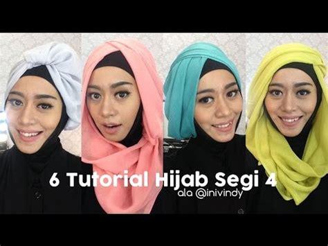 tutorial hijab segi empat inivindy 7 tutorial hijab pesta dan wisuda inivindy doovi