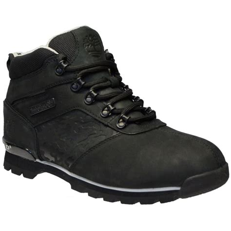 black timberland mens boots timberland timberland splitrock 2 nubuck black n89 a15u5