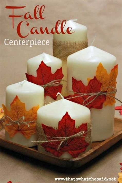 easy to make fall decorations 30 magical diy fall decorations for your household