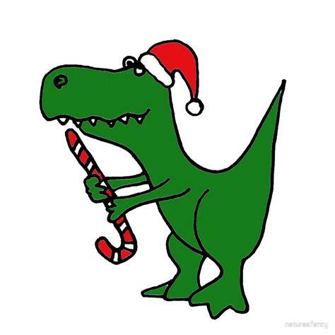 quot cool funky christmas green t rex dinosaur in santa hat