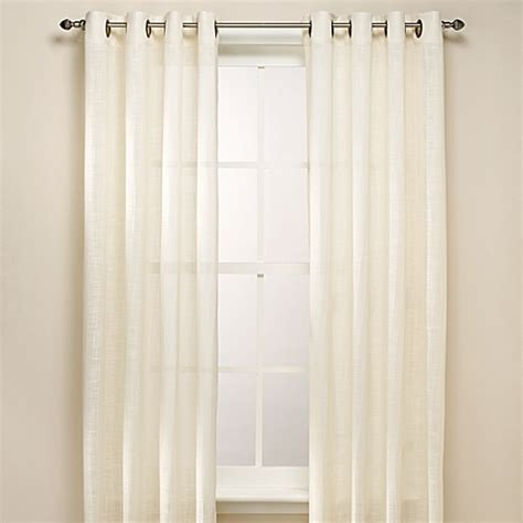 bed bath and beyond bathroom window curtains b smith origami grommet window curtain panels bed bath