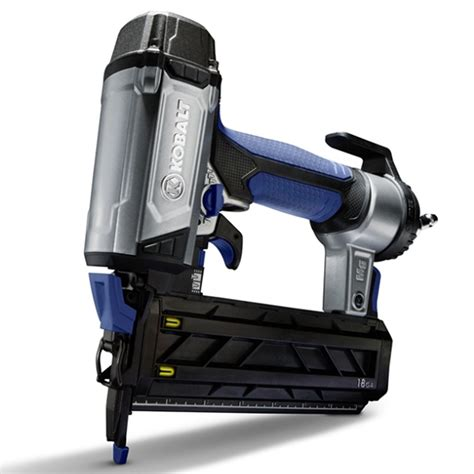 shop kobalt roundhead brad pneumatic nailer at lowes com