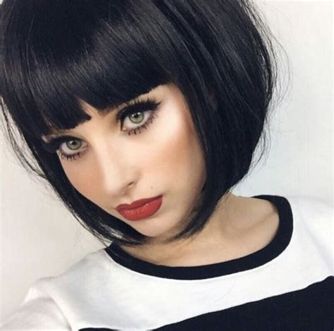hairstyles 2017 bob with fringe short shaggy thick hair for over 50 short hairstyle 2013