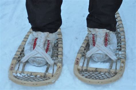 diy snow shoes how to make snowshoes and surviving at the