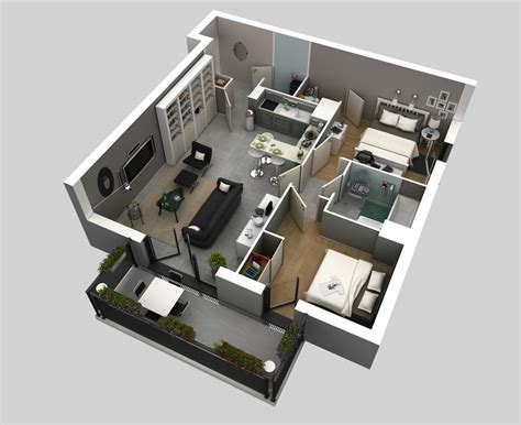 2 bedroom house interior designs 2 bedroom apartment house plans