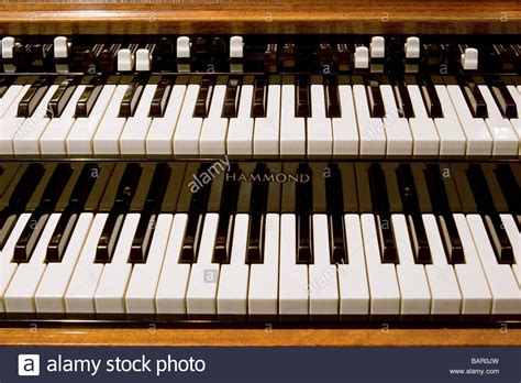 Keyboard Hammond closeup image of hammond b3 organ keyboard with drawbars stock photo royalty free image