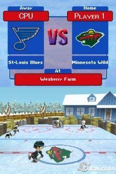 backyard hockey ds backyard hockey preview ign