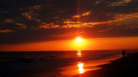 sunset orange orange sunset manhattan linear