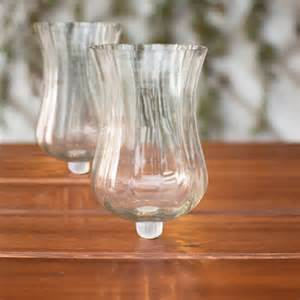 Candelabra Glass Candle Holders Candle Holder Candelabra Attachment Clear Hurricane Glass