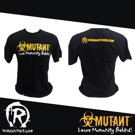 T Shirt Ukuran Xl 100 Cotton t shirt mutant kaos mutant