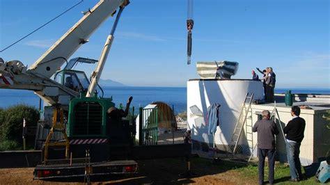 nuova cupola ultime notizie piombino nuovo telescopio e nuova cupola all osservatorio