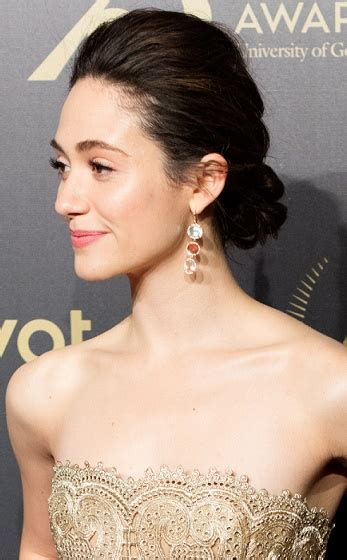 emmy rossum updo hairstyles emmy rossum formal updo