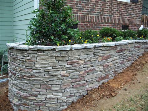 Garden Rock Walls Genc Inc Stoneworks