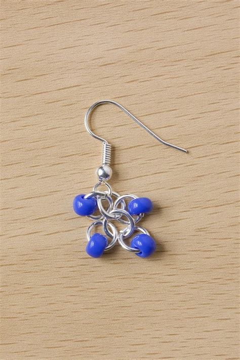 how to bead earrings with seed easy seed bead earrings 183 how to make a pair of beaded