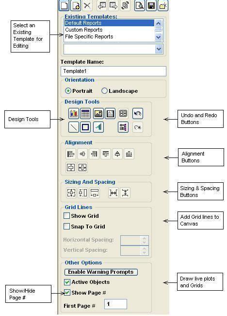 ui pattern toolbar designing reports