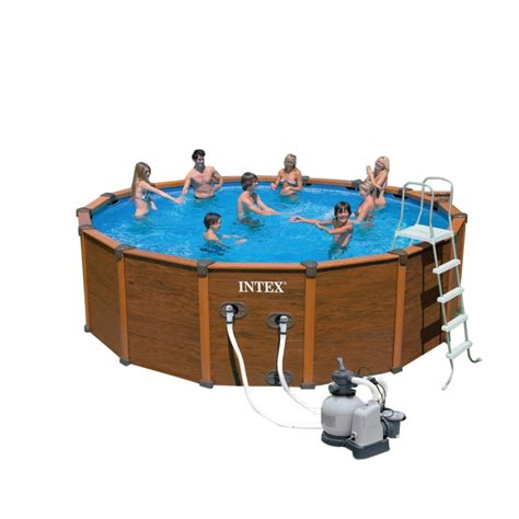 Piscine Intex 35 by Piscina Fuoriterra Intex Sequoia Bsvillage