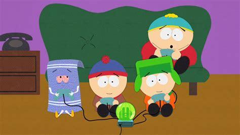 south park it hits the fan script towelie south park archives cartman stan kenny kyle