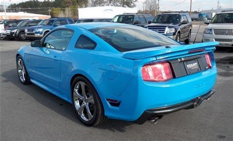blue saleen mustang grabber blue 2011 saleen s302 ford mustang coupe