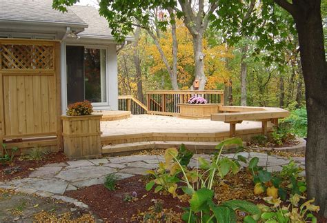 backyard decking backyard deck and patio ideas home decoria