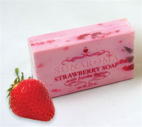 Spotlight Soap new product spotlight strawberry soap with jojoba butter africa imports business