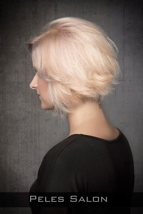 shaping back of hair to flipin with a layer cut the 41 ultimate short hairstyles for long faces