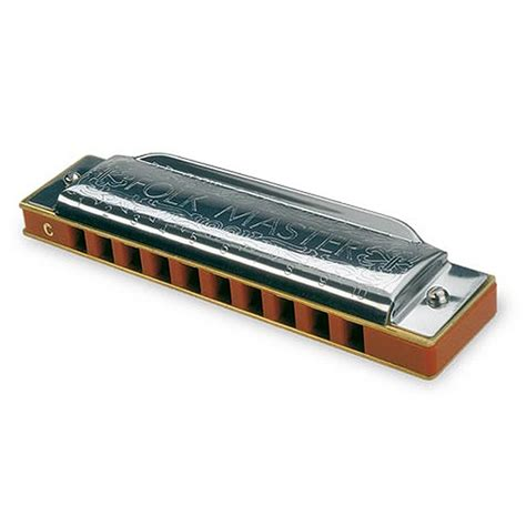 M Suzuki Harmonica Folkmaster Harmonica