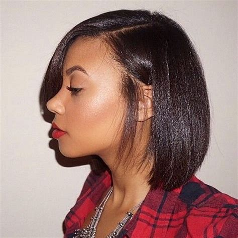 short hair cut with no relaxer 17 best ideas about short relaxed hair on pinterest
