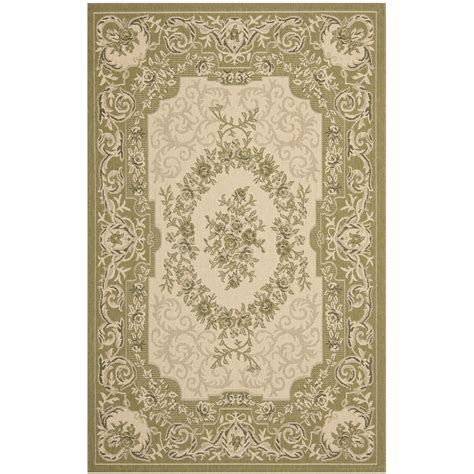 Safavieh Courtyard Safavieh Courtyard Green Outdoor Rug Reviews Wayfair