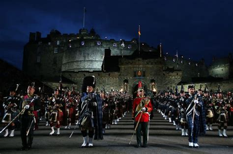 tattoo at edinburgh castle scottish castles under the stunning night sky scotland now