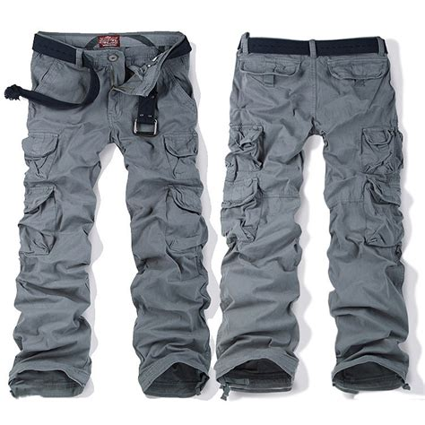 Cargo Grey belted grey cargo for cw100012